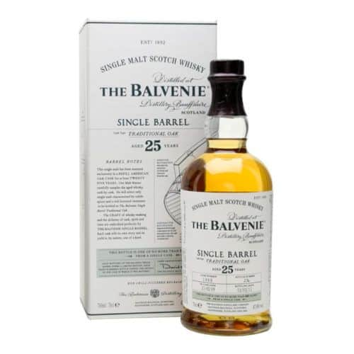 Balvenie Whisky 25 Years Old Single Barrel Traditional Oak 70 Cl