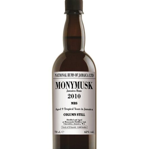 Monymusk MBS 2010 Jamaica Rum 9 Years Old Vol 62° 70 Cl