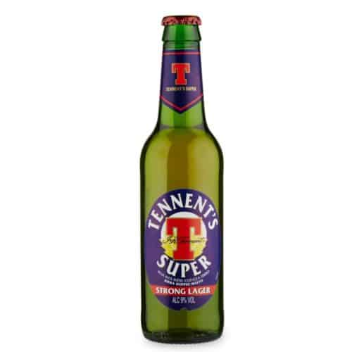 Tennent's Super Strong Lager Birra Cl 33