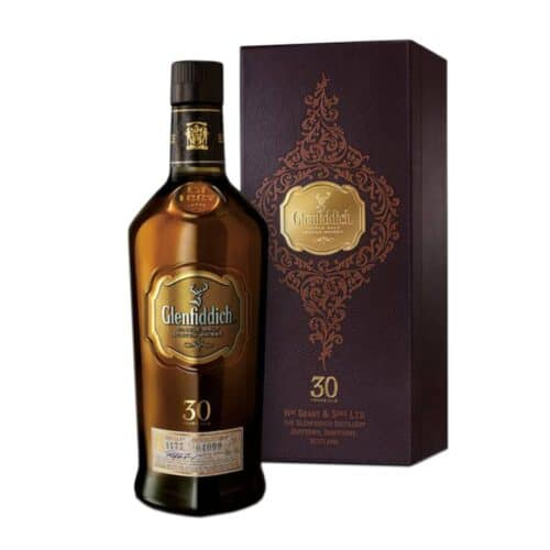 Glenfiddich 30 Years Old (2018 Release) Single Malt Scotch Whisky Cl 70