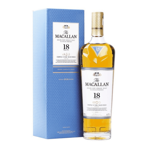 The Macallan 18 Years Old Triple Cask Scotch Whisky  Cl 70