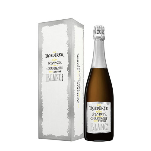 Louis Roederer Champagne Brut Nature 2012 By Philippe Starck Cl 75